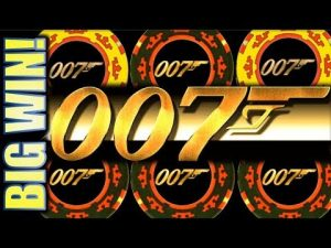 ★AWESOME large WIN!★ MAX BET $5.40 casino bonus ROYALE 007 JAMES BOND Slot Machine Bonus (SG)