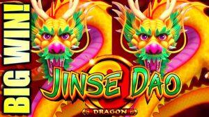 ★FINALLY! GOT THE unloose GAMES! large WIN!★ JINSE DAO DRAGON & PHOENIX Slot Machine (SG)