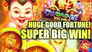 ★HUGE goodness FORTUNE! SUPER large WIN!★ FU DAO LE RICHES Slot Machine Bonus (SG)