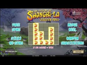 ♠️ The Legend Of Shangri-La