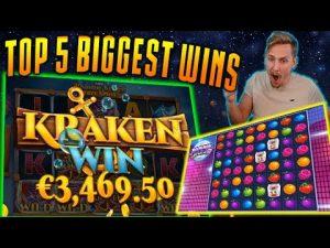 Streamers HUGE WIN! CasinoDaddy - FITAT më të mëdha të javës kalendarike! Slots bonus kazino! # 6