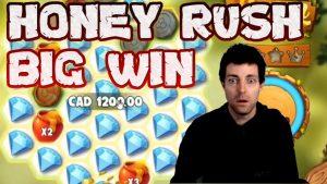 Bal Rush Online Slot-da 2 Kütləvi Qazandı | Bal Rush Play n Go-da böyük qalibiyyət