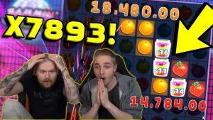 2 STRAWBERRIES=15K! X7893 HUGE WIN JAMMIN JARS 🔥 Online casino bonus Top 5 Biggest Wins 19
