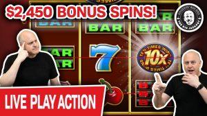 🔴 $2,450 LIVE Bonus Spins 🎰 Sabbatum MEGA SLOT PLAY!