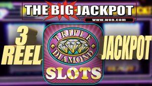3 REEL JACKPOT ✦ $180 SPIN HIGH bound ✦ TRIPLE DIAMOND SLOT WIN! | The large Jackpot