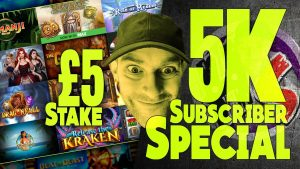 5000 Nën Speciale! Bonus Hunt! £ 5 aksione! fitore të mëdha! Hitet e mëdha të lojërave!