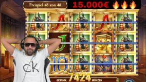 💸💸💸 Al-Gear 15.000€ + 5x Verlängerung inward Legacy of Dead – large Win Al-Gear casino bonus flow