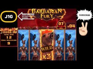 BARBARIAN FURY SLOT HUGE large WIN ON 25€ BET 💰🐻