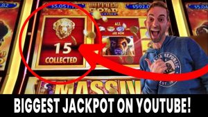💰 BIGGEST Buffalo Au Revolution JACKPOT on YouTube! 🎰 15 Au Buffalo caught LIVE!