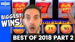 🤑 BIGGEST WINS of 2018 🤑 All wins $800+ 👍 (component division 2 of 2) ✦ BCSlots