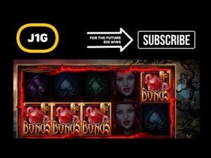 BLOOD LUST SLOT large WIN ON 6€ BET 🩸💶
