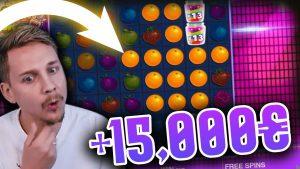 CasinoDaddy Huge κερδίστε 15.000 € στο κουλοχέρη Jammin Jars - TOP 5 mega κερδίζει μπόνους στο καζίνο στο Διαδίκτυο