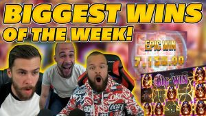 ClassyBeef's BIGGEST WINS OF calendar week 16! INSANE large WINS on Online Slot Compilation!