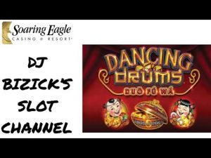 🥁 Dancing Drums Slot Machine 🎰 💵 large WIN 💵 SOARING EAGLE casino bonus 🦅 Mount Pleasant, MI 🇺🇸
