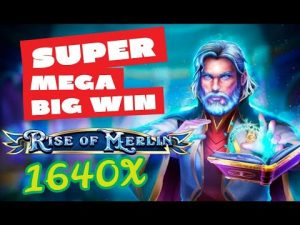 "👌 EPIC 2d / BITCASINO.IO / SLOT ► ""ascension Of Merlin"" 💰💰 MEGA large WIN !!"