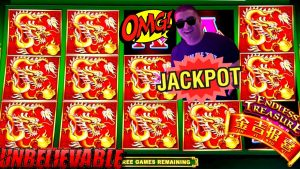 Endless Treasure Slot Machine HUGE HANDPAY JACKPOT – Tons Of BONUSES & large WIN$ component – #1