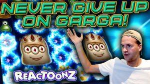 Garga on a €10 Bet! (Reactoonz large Win)