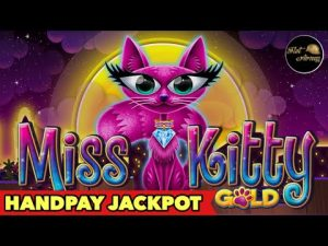 🔥HANDPAY JACKPOT MISS KITTY atomic number 79🔥UNBELIEVABLE HUGE WIN BACKUP SPIN AFTER JACKPOT SLOT MACHINE