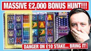 HOW MUCH IS THAT??? HUGE £2000 SLOTS BONUS HUNT !!!