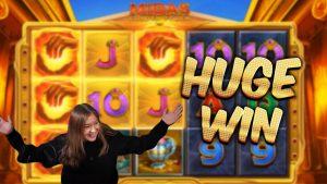 Hatalmas nyeremény !!! Midas Golden touching - kaszinó bónusz játékok a MrGambleSlot Live-ről