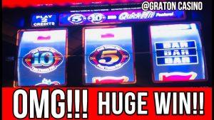 💰HUGE GEWINNEN AUF 10x10x10x SCHNELL schlagen MACHINE @ Graton Casino Bonus | NorCal Slot Guy
