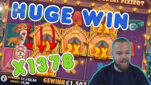HUGE WIN! Streamer win 20.000 € inward casino bonus Slots! BIGGEST WINS OF THE calendar week! #7
