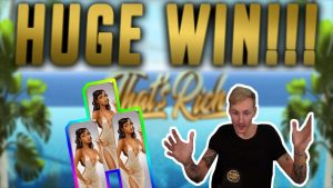 HUGE WIN! That's Rich large WIN – casino bonus Games from CasinoDaddy live current