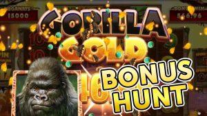 HUGE WIN on GORILLA atomic number 79 !!  BONUS HUNT !!! HOW MANY BONUSES tin I acquire?!