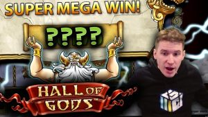 HUGE WIN on Hall of Gods Slot – £5 Bet