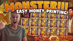 HUGE WIN!! volume of Dead large WIN – 10 euro bet (Online slots) from casino bonus LIVE current