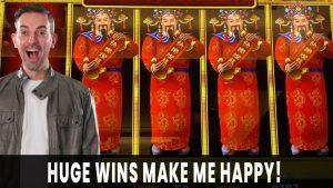 💸 HUGE WINS on HAPPY LANTERN 🏮 INSANE WILDS 🎰 Progressive JACKPOT Slots