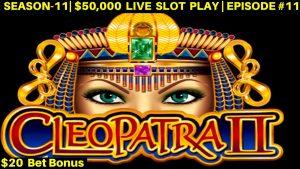 High bound Cleopatra 2 Slot Bonus Win -High bound QUICK striking & Lightning Link | SE-11 | EPISODE #11