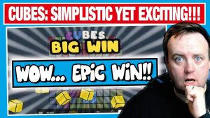 I hitting A CRAZY WIN ON CUBES SLOT