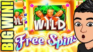IT EXISTS!! RARE WILD liberate SPINS!! $6.00 MAX BET large WIN SESSION! WONKAVATOR Slot Machine (SG)