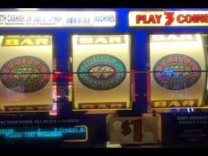 JACKPOT LIVE mitt PAY★Double Triple Diamond Slot on loose Play Slot [Huge Win] San Manuel [カジノ][スロット]