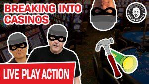 "🔴 LIVE! Breaking Into Casinos 🔦 ""I demand to Play Slots!"" – Raja"