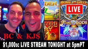 🔴 LIVE SLOTS 🎰 Brian & Rex Jason Slots 💰 Online Slot Play on Social casino bonus 💁♂️ BCSlots