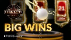 Lightning Roulette large Win Compilation   Evolution Gaming