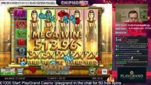 MASSIVE WIN !!! Queen of riches huge win !! BTG (Online Slots)