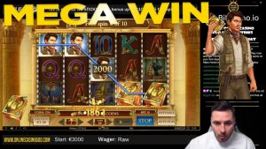 MEGA WIN! volume Of Dead large Win from OnlineCasinoGod live flow on twitch!