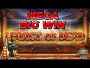 MEGAラージWIN BEI LEGACY OF DEAD(PLAY'N GO)– 2€EINSATZ!