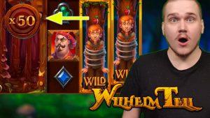 MEGA large WIN ON WILHELM TELL (Yggdrasil Gaming)