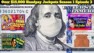 MEGA большой выигрыш более $ 15,000 1 джекпотов Handpay на игровых автоматах вкус 3 серия XNUMX IGT слоты с высокими ставками
