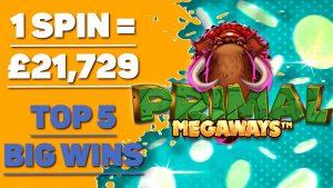 🔥 MUST reckon 🔥 Primal Megaways slot large Wins  Online casino bonus Jackpot  existent Money