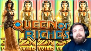Mega large Win on Queen of Riches