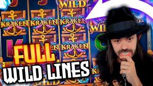 Mega wins on RELEASE THE KRAKEN (Pragmatic Play) – Top 5 large wins inward casino bonus slot
