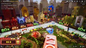 "Monopoly…( "".3 ""x8.). ROLLS.. large WIN.. casino bonus  – Vera&John ..R$362,50"