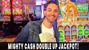 💰 My BIGGEST Mighty Cash DOUBLE upward JACKPOT! 🤑 $22/BET HANDPAY 🎰 Agua Caliente #advert