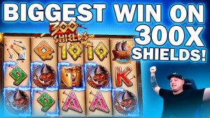 OUR 2d BIGGEST WIN EVER! MUST consider INSANE MEGA WIN ON 300 SHIELDS EXTREME