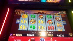 😎😎😎POMPEII SLOT MACHINE large WIN 3 RETRIGGERS WOW Miami valley casino bonus  😎😎😎